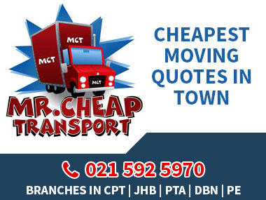 Mr Cheap Transport - We pride ourselves on being one of the CHEAPEST moving companies in town, offering a renowned REMOVAL experience which is unbeatable. We have moved over 10 000 loyal satisfied customers! Call us for Home / Office Removals & Storage Services.